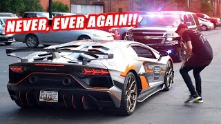I LET DAMON FROM DAILY DRIVEN EXOTICS DRIVE MY AVENTADOR SVJ... NEVER AGAIN!!