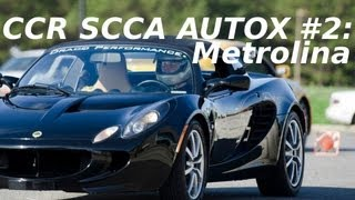 Lotus Elise Autocross @ Metrolina CCR SCCA 2/24/2013 Joe Price