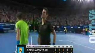 Nadal vs Djokovic final Open de Australia 2012 [ULTIMO PUNTO+CELEBRACION]