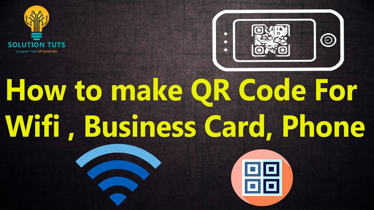 how to make a qr code for your wifi password