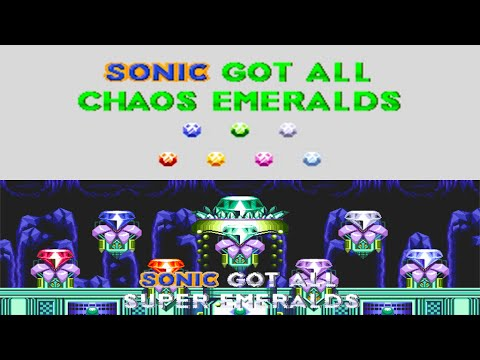Sonic 3 & Knuckles: All 14 Special Stages (+2, HD)