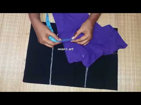 Blouse Cutting Full Explation In Tamil   Easy Method To Cutting Blouse