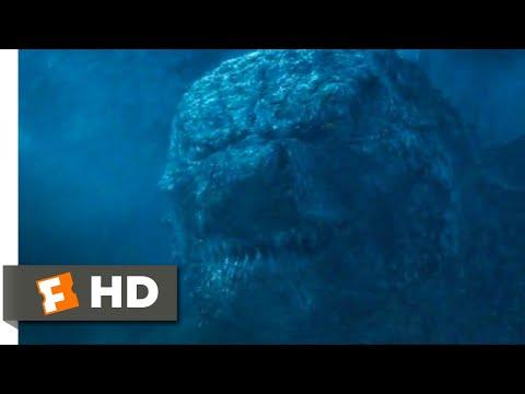 Godzilla: King Of The Monsters (2019) - Godzilla Vs. Ghidorah - Antarctica Scene (3/10)   Movieclips