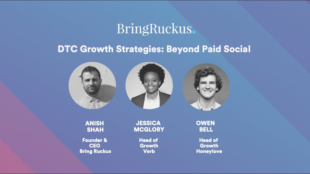 DTC Growth Strategies: Beyond Paid Social