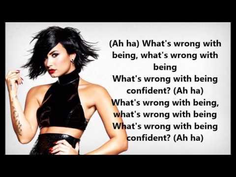 Demi Lovato - Confident (Lyrics with audio!)