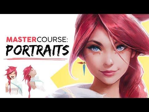 Illustration Master Course - Ep. 3: PORTRAITS