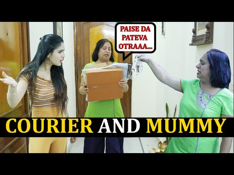 COURIER AND MUMMY