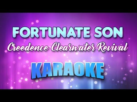 Creedence Clearwater Revival - Fortunate Son (Karaoke & Lyrics)