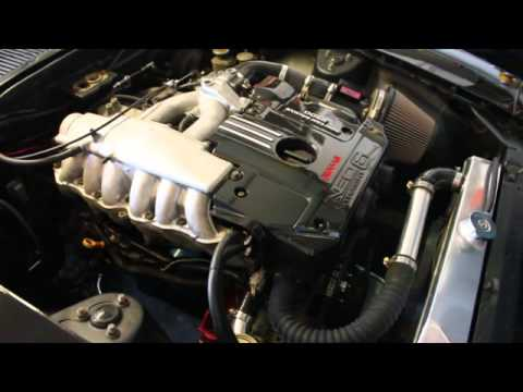 Datsun 240z Freshly Installed R34 RB25DE NEO Open Header Naturally  Aspirated Exhaust Note