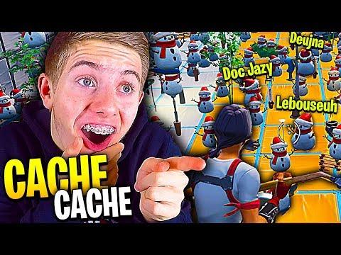 LE MEILLEUR CACHE-CACHE LE PLUS DRÔLE SUR FORTNITE CRÉATIF  Ft Lebouseuh Doc Jazy