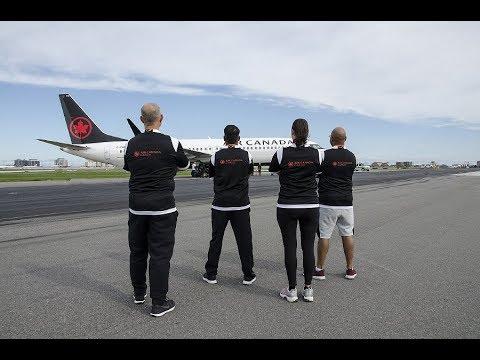 GTAA RUNWAY RUN 2018 & Team Air Canada Cargo