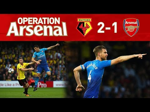 WATFORD 2-1 ARSENAL - OPERATION ARSENAL