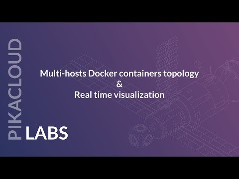 Docker containers topology & real time visualization