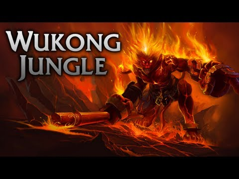 League of Legends | Volcanic Wukong Jungle - Full Game Commentary