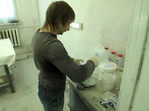 Приготовление тиксотропного грунта
