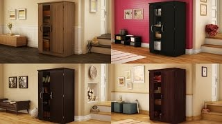 South Shore Morgan Collection Storage Cabinet Perfect For Home Office, Bedroom, Basement & Garden