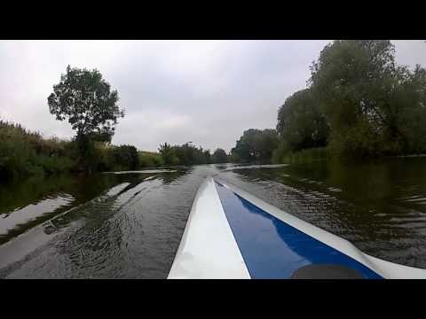 10 on 20 off - Rowing (Stern View) on the River Avon, Evesham