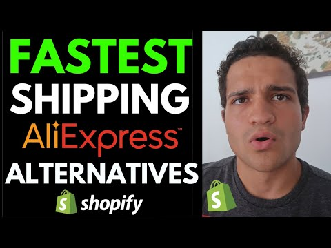 Best Aliexpress Alternatives for Shopify Dropshipping Right Now: Best Dropshipping Suppliers 2020 thumbnail