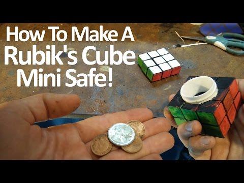 How to make a Rubik's Cube Mini Safe!