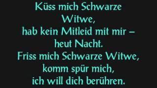 Eisbrecher - Schwarze Witwe (mit text)