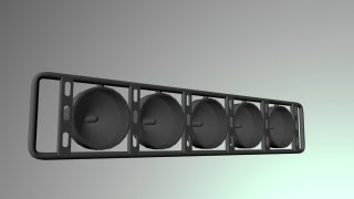 How to Model a Light Rack in Maya 2013