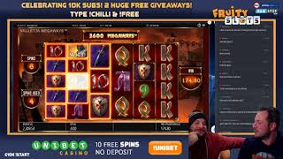 £10,000 Start Live Stream With Bonus Hunt!