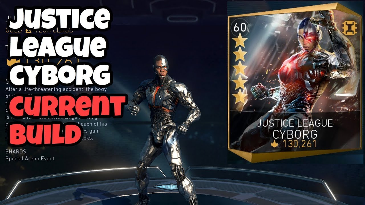 Injustice 2 Mobile   Justice League Cyborg Build