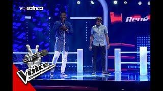 René vs Joël ' Marie ' de Johnny Hallyday Les Battles | The Voice Afrique francophone 2017