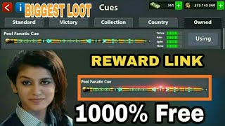 8 Ball Pool Just 1 Click Get Free [ Pool Fantastic Cue ] Limited Offer 😵