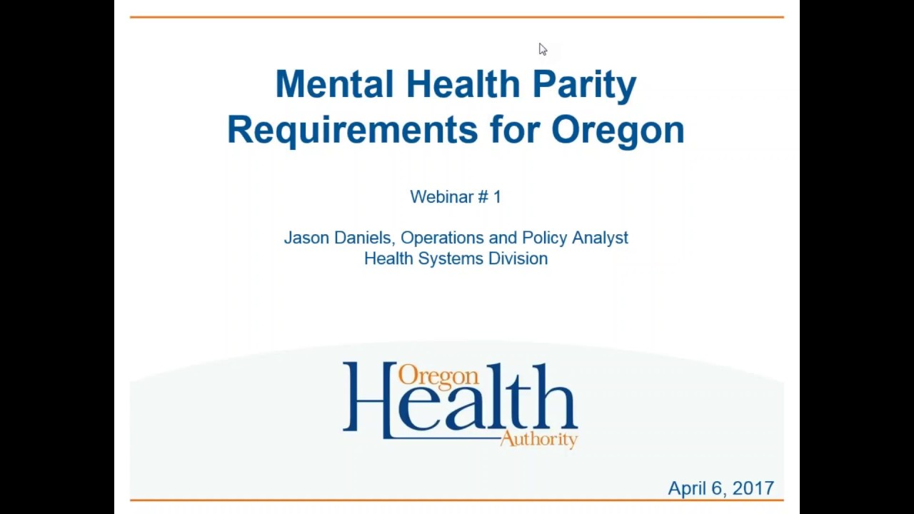 policy analysis of the oregon health