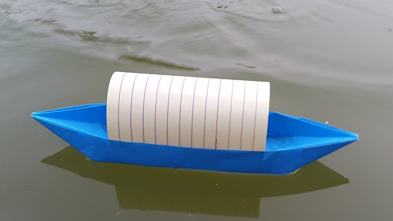 how to make a paper boat that floats on water origami boat making tutorial youtube. Black Bedroom Furniture Sets. Home Design Ideas
