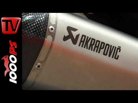 Produktvorstellung   Akrapovic Roller Segment