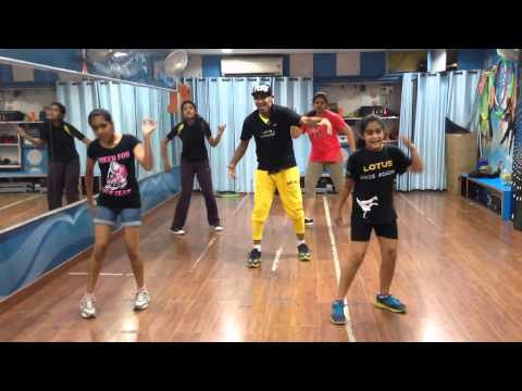 hangover kick salmaan khan dance lotus dance academy,panchkula