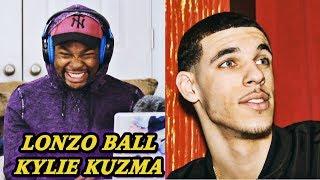 Kevin Durant Reacts to Lonzo Ball - Kylie Kuzma (Kyle Kuzma Diss Track) | Jamal_Haki