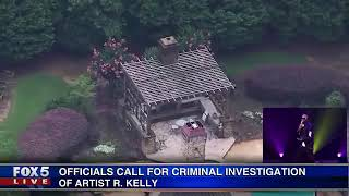 LIVE  OFFICIALS Call for Criminal Investigation of R  KELLY