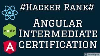 Hacker Rank Angular  Certification Intermediate  #07