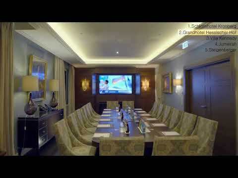 Top 5 Luxury Hotels in Frankfurt am Main , Germany