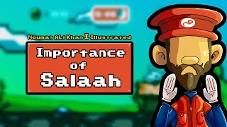 The Importance of Salaah   Nouman Ali Khan - ILLUSTRATED   Subtitled