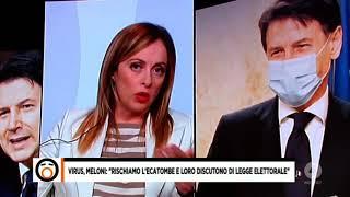 Giorgia Meloni Ospite Di Mario Giordano A Fuori Dal Coro Su Rete 4. Assolutamente Da Non Perdere!
