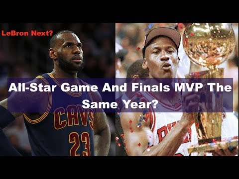 NBA Players Who Won Both All-Star Game MVP And Finals MVP The Same Season