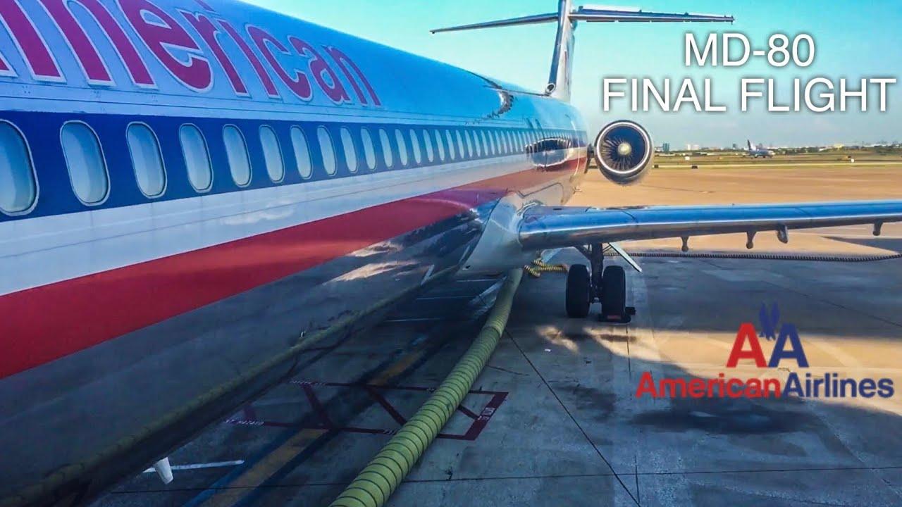 American Airlines FINAL MD-80 RETIREMENT FLIGHT | Dallas/Fort Worth to Amarillo | FULL FLIGHT