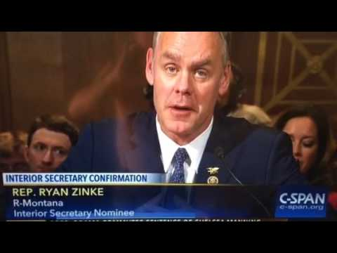 COMFIRMATION HEARING:  DEPARTMENT OF INTERIOR
