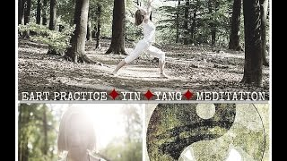Gambar cover Yin yoga, Hatha yoga and Meditation (in English, 1,5h)