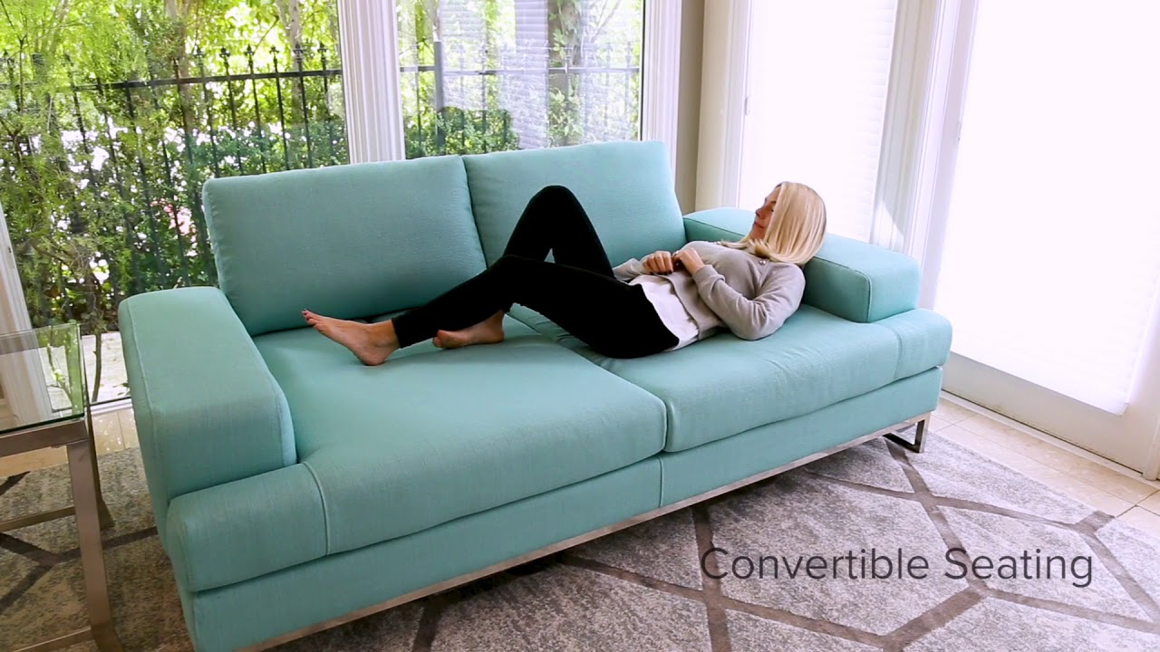 Furniture Stores Canberra Canberra Fabric Convertible Sofa Turquoise