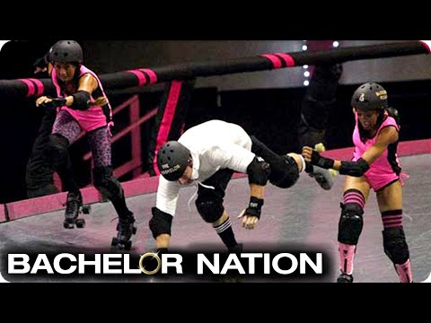 Roller Derby Date Ends With Amanda In Hospital! 🚨  | The Bachelor US