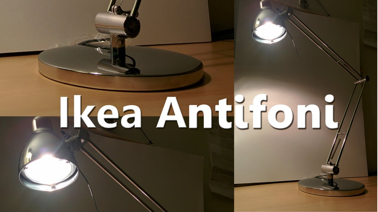 Ikea Hocker Karlstad Isunda Grau ~ Ikea Antifoni Desk Lamp  YouTube