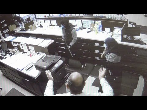 Armed robbery at Edmonton pharmacy captured on surveillance video