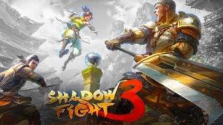 ТЕНЬ ПРОТИВ ВАМПИРА в Shadow Fight 3 и босс с вертолетными ударами прохождение игры бой с тенью 3