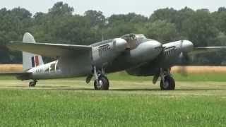 DeHavilland Mosquito -Geneseo Air Show 2014
