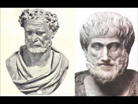 Democritus Vs. Aristotle